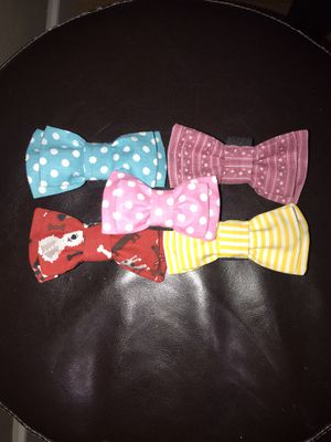 Bow tie for pets; cat 🐈 or dog 🐕 pet accessories, clothes ; 100% cotton for Sale in Happy Valley, OR