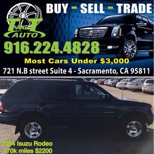 2004 Isuzu Rodeo for Sale in Sacremento, CA