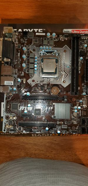 I3 6100/ msi motherboard for Sale in Lehigh Acres, FL
