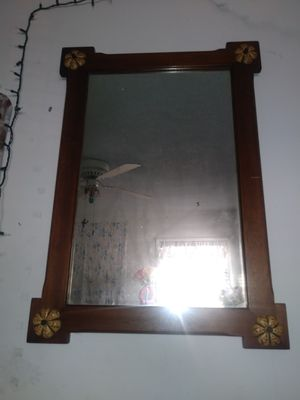 Old antique mirror desk and dresser set for Sale in Garden Grove, CA