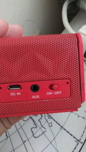 Red Bluetooth speaker original price: 250$ for Sale in Silver Spring, MD