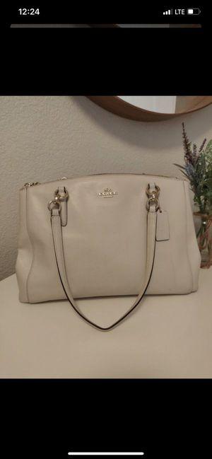 White coach purse for Sale in Bakersfield, CA