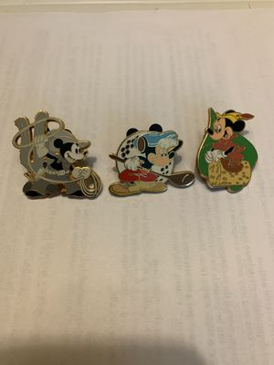 Authentic Disney pins (2008) set for Sale in Richmond, TX