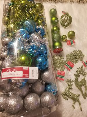 Christmas tree ornaments for Sale in Riverside, CA