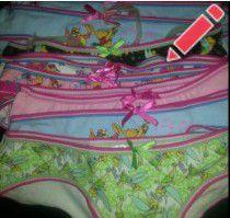 10 Girls panties size 6 new Disney theme for Sale in Las Vegas, NV