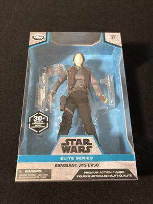 Stars Wars action figure elite series 10 inch sergeant Jyn Erso for Sale in Kirkland, WA