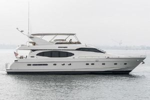 1997 76 Monte Fino Motor Yacht Diesel Powered Boat Custom Jacuzzi Installed and many extras! for Sale in San Diego, CA