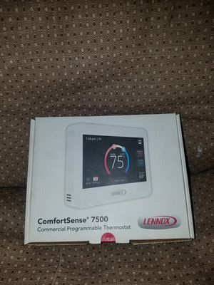 Lennox comfortsense 7500 commercial programmable thermostat digital touch screen for Sale in Saint Petersburg, FL