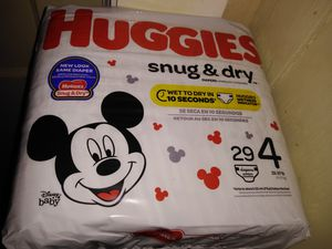 Huggies diapers for Sale in Haines City, FL