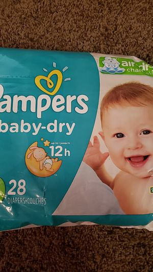 Pampers baby dry size 4 for Sale in WHT SETTLEMT, TX