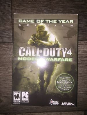 PC Game Call Of Duty Modern Warfare for Sale in West Valley City, UT