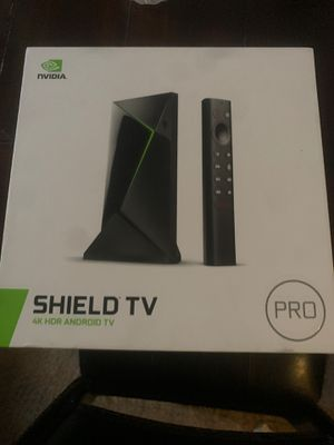 Shield tv 4 k hdr android tv for Sale in Downey, CA