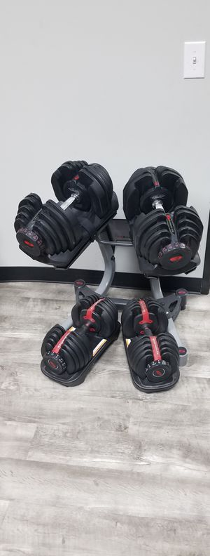 Bowflex Dumbbells 1090 and 552 for Sale in Gilbert, AZ