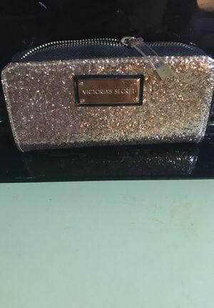 Victoria Secret brush/makeup bag for Sale in Martinsville, VA