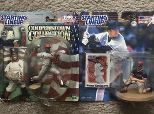 2 MLB Figures Gibson & Nomar for Sale in Lowell, MA