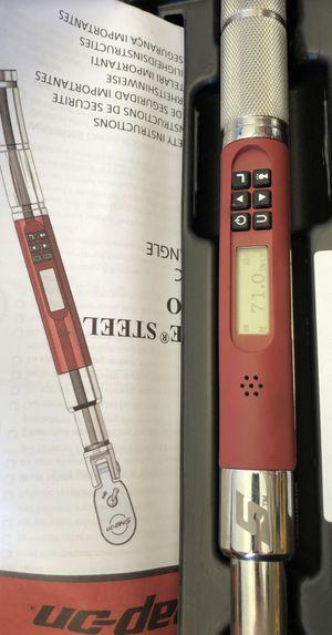 Snap On Digital Flex Head Torque Wrench - ATECH1FS100 for Sale in Mount Laurel Township, NJ