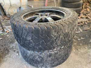 20s with tires for Sale in Bell Gardens, CA