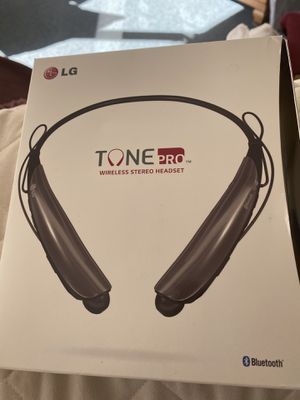 LG tone Bluetooth head set for Sale in Rices Landing, PA
