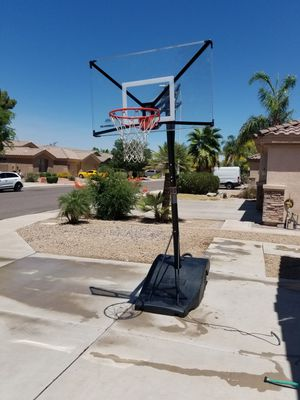 Silverback NXT 54 portable basketball hoop for Sale in Chandler, AZ