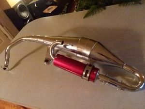 for 2 stroke scooter silverstone exhaust system for Sale in Millsboro, DE