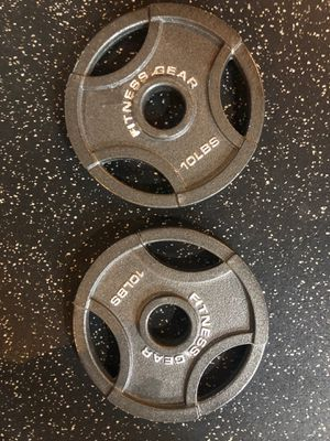 10lb weight plates for Sale in Joliet, IL