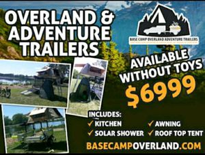 Overland Toy Hauler Adventure Trailer for Sale in Lake Station, IN