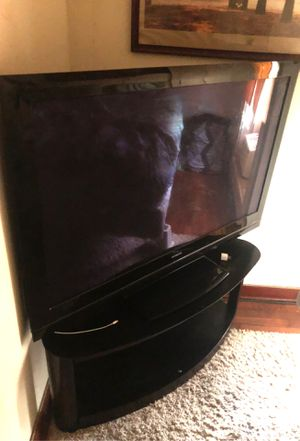 55 led tv and stand for Sale in Fredonia, KS