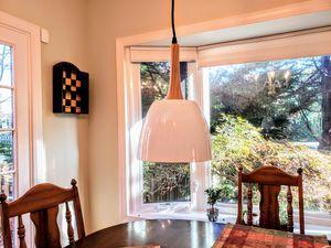 Modern White Pendant Light Fixture for Sale in Winston-Salem, NC