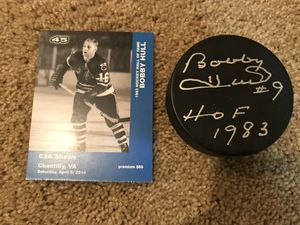 Bobby Hull Autograph for Sale in Ashburn, VA
