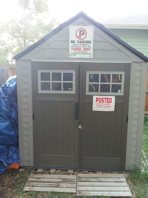 Rubber maid shed for Sale in Denver, CO