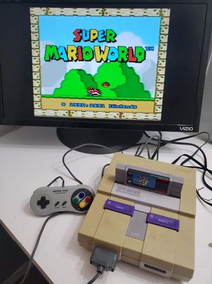 Super Nintendo (Classic) (All Cords , 1 Controller) (Tested 100% for Sale in Houston, TX
