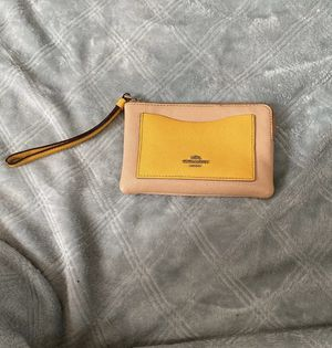 Coach hand wallet for Sale in US