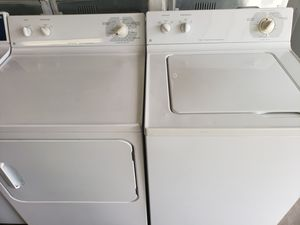 Great working heavy duty Ge washer and dryer set for Sale in Vancouver, WA