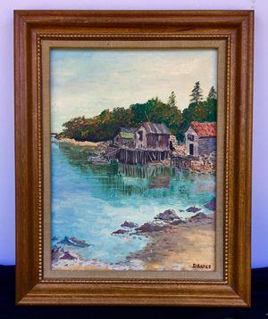 Beautiful original vintage framed oil by Dorothy Estes; H15xW12xD1 inch; for Sale in Chandler, AZ