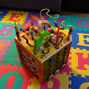 B. Toys Wooden Activity Block for Sale in Campbell, CA