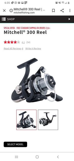 MITCHELL 300 FISHING REEL for Sale in Washington, DC