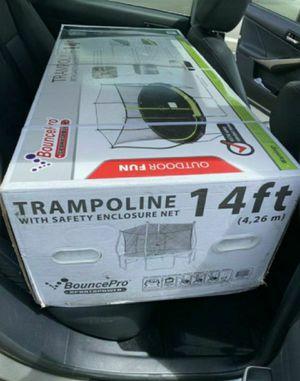 14ft Trampoline for Sale in NEW CARROLLTN, MD