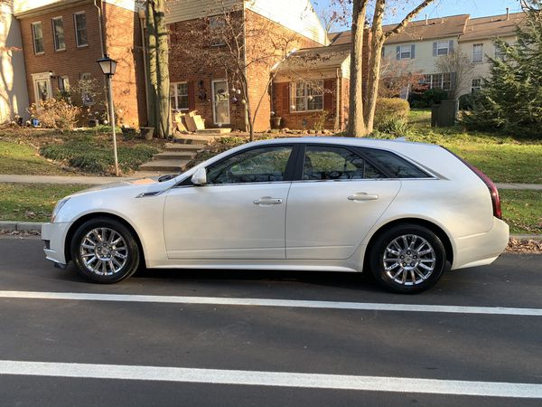 2010 Cadillac CTS Wagon AWD Only 67K miles MD inspection