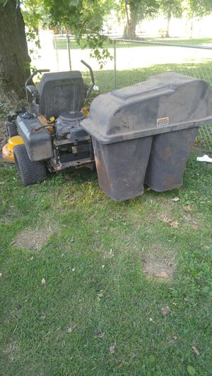 Bagger only for Cub Cadet Z Force. $150 OBO for Sale in Terre Haute, IN