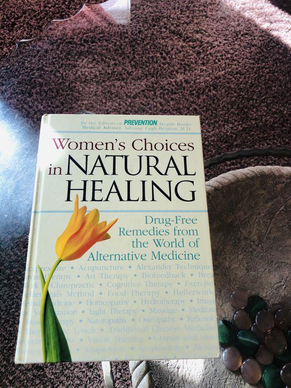 Natural Healing Book For Women. All natural healing.