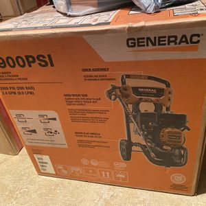 Generac 8874 - 2900 PSI 2.4 GPM Residential Pressure Washer for Sale in Chicago, IL