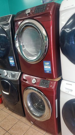 Samsung washer and dryer red for Sale in Hawthorne, CA
