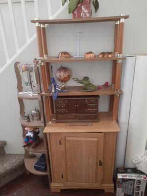 Wood Display Shelf/Dresser/Cabinet for Sale in Las Vegas, NV