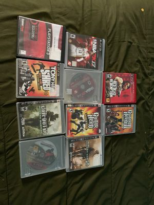 10 PS3 Games for Sale in Las Vegas, NV