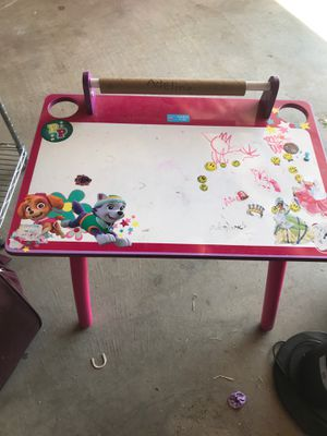 Kids art desk for Sale in Moreno Valley, CA