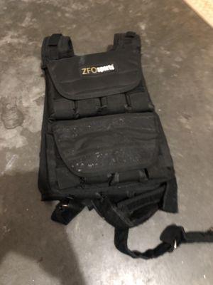 ZFO weight vest for Sale in Wenatchee, WA