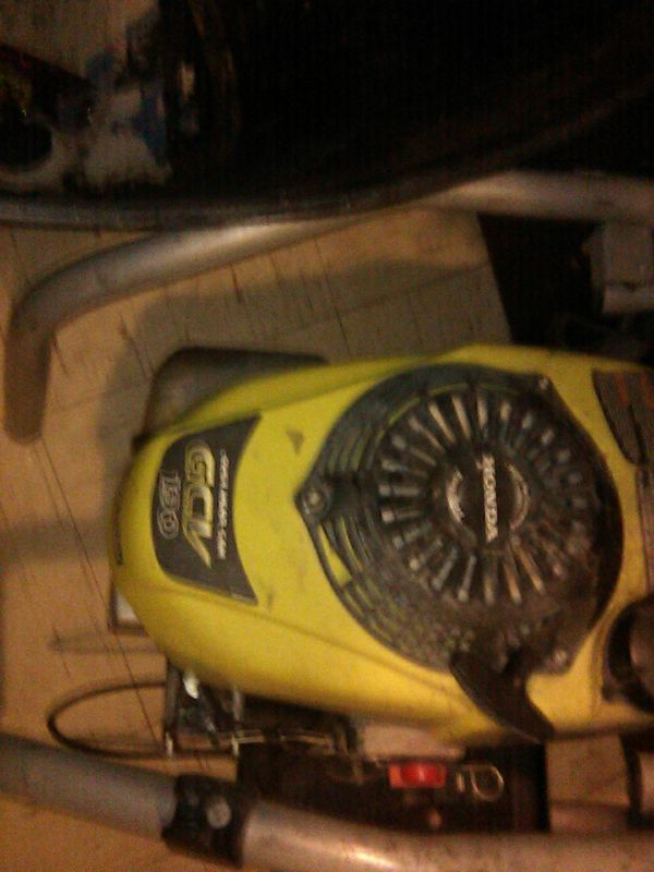 Honda pressure washer 190
