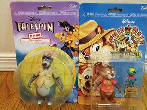 Disney Action Figures Baloo & Dale/Zipper Funko Bundle for Sale in Philadelphia, PA