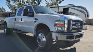 2009 FORD F450 LARIAT 4WD DIESEL CREW CAB DUALLY for Sale in Upland, CA