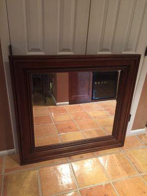 Beautiful Wood mirror for Sale in Boca Raton, FL